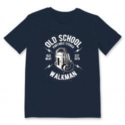 T-shirt OLD SCHOOL WALKMAN
