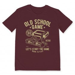 T-shirt OLD SCHOOL GAME